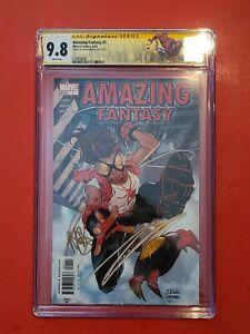 Amazing Fantasy #1 🕷 CGC 9.8 SS Mark Brooks 1st Anya Corazon Spider-Girl Arana