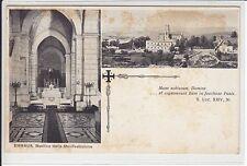AK Emmaus, Kubeibe, Israel, Basilica della Manifestazione 1920