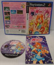Console Game Gioco SONY Playstation 2 PS2 PAL ITALIANO Konami Play - Winx Club -