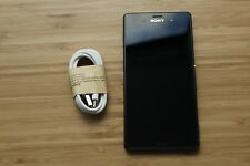 7/10 MINOR ISSUE Sony  Xperia Z3 D6653 - 16GB - Black OZ STOCK