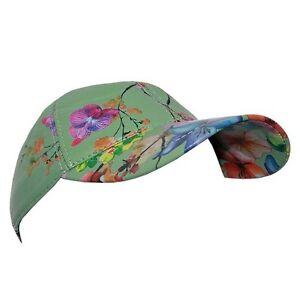 Baseball Floral Summer Beach Cap Real 100% Genuine Soft Napa Golf LEATHER Hat
