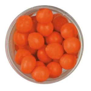 Berkley PowerBait Eggs Floating Magnum Garlic Flavor Fluorescent Orange 1238459