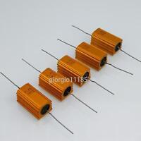 US Stock 5pc 560 ohm 560R 5W Watt Aluminum Housed Metal Case Wirewound Resistors