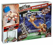 WWE Power Slammers Wrecking Brawl Action Ages 6+ Fight Wrestling  Mattel Boys