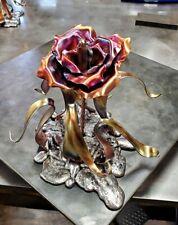 "Copper Rose #1745e ""Splash of Love"" Anniversary Valentine's Day Christmas Gift"