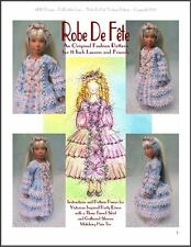"""Robe De Fête"" Fashion Pattern for 11 Inch Leeann Dolls"