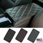 Pu Leather Car Armrest Pad Cover Center Console Box Mat Cushion Auto Accessories