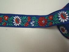 2312 Affen mit Blume 25mm Breite Ripsband Webband Borte