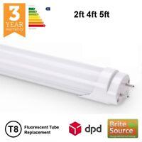 Tube LED T8 remplacement des tubes fluorescents 2ft 4ft 5ft G13 4000K 6000K