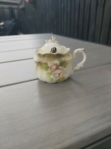 Miniature Sugar Bowl With Lid