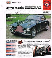 Vintage Aston Martin Db Brochures Imp Collection : Db-2 / 4/6, Db2, Db4, Db6