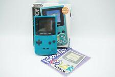 Nintendo Game Boy Color - mint grün - OVP - CIB - Japan Import
