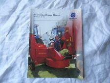 New Holland 28 40 forage blowers brochure