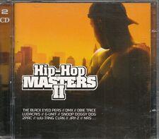 2 CD COMPIL 39 TITRES--HIP HOP MASTERS II--DMX/LUDACRIS/DOG/2PAC/WU TANG CLAN...