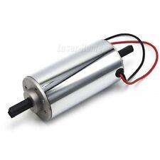 400W DC12V-48V Chrome CNC Air Cool Brush DC Spindle Motor 12000RPM