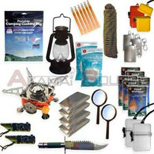 34pc Survival Kit Emergency Camping Gear Hiking Pack Doomsday Prep Package Tool
