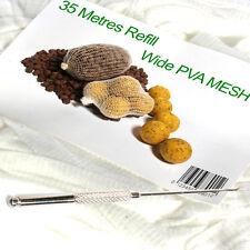 PVA mesh 35 metre refill & baiting needle