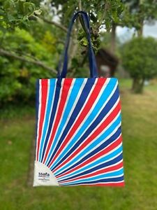 SSAFA Eco Shopper Tote Bag Reusable Made of 100% Recycled Plastic Bottles