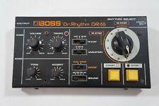 BOSS Dr-55 Dr. Rhythm Vintage Analog Drum Machine Roland Worldwide Shipment