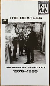 Beatles  The Sessions Anthology 1976-1995   2017 Numbered 4CD Box