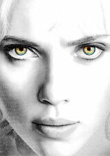 Lucy Poster Scarlett Johansson Movie A4 260gsm