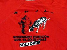 Rush 1982 Signals Tour Rosemount concert show crew Sweatshirt vintage shirt