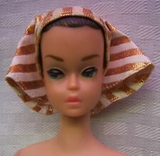 Vintage 1963 Barbie Fashion Queen w/ 3 Interchangeable Wigs on Wig Stand