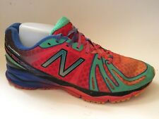 New Balance Baddeley 890v2 Mens 8 M Sneakers Shoes Green Pink Black Blue Running