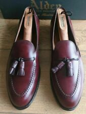Alden Style #769 Tassel Loafers - Burgundy - Size 10.5D