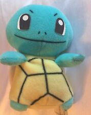 RARE Vintage '98 Pokemon Squirtle Turtle Hasbro Plush Stuffed Animal Toy MINT A+