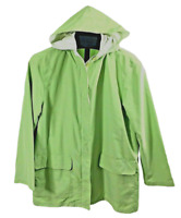 Monterey by Koret Womens Medium Lightweight Hooded Jacket Green