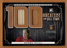 2016-17 , ITG , STICKWORK HOCKEY , BOBBY HULL  , 100 GREATEST OF ALL TIME , /25