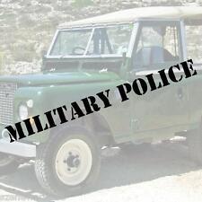 MILITARY POLICE Schriftzug Aufkleber 60cm Polizei decal Highway Patrol US ARMY