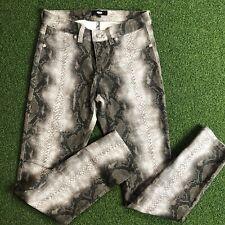 NWOT Versus By Versace Snakeskin Printed Pants Size 28