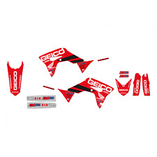New CRF 250 R 18-20 450 R 17-20 Honda D'cor Geico Graphics & Seat Cover 8146R19