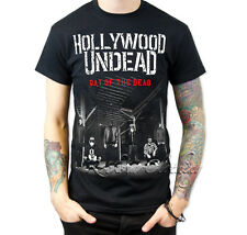 Hollywood Undead TShirt Day of the Dead Tour Tee Top Size S M L XL XXL