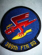 USAF Patch - 389th Fighter Squadron Patch, Based at Guam