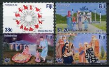 More details for fiji cultures stamps 2019 mnh festivals of joy christmas chinese new year 4v set