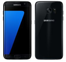 Samsung Galaxy S7 edge SM-G935A 32GB Black AT&T Straight Talk H2O Used