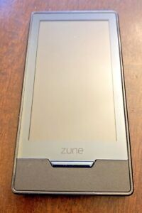 Microsoft Zune HD 16gb Model 1395 Black. Does not turn on without.
