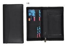 LEATHERETTE CHEQUE BOOK AND MOBILE HOLDER FOLDER /PASSPORT WALLET