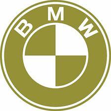 Calcomanías Decorativas corte de vinilo con el logotipo de BMW 100 Mm x 100 mm BMW M3 M5 M1 323