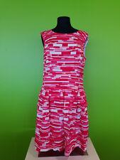 Covington Women's Pink Orange Red & White Sleeveless Dress Size 16