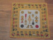 Vintage Tammis Keefe Chairs Hanky Handkerchief Hankie