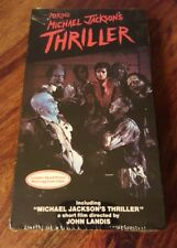 Rare factory sealed 1983 Making Michael Jackson's Thriller
