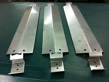 CHAR-GRILLER 5050 DUO 95051-Stainless Steel Heat Plate (3) and brackets (6)