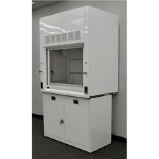 Chemical Laboratory 4' Fume Hood w/ Epoxy Top and Base Cabinet-