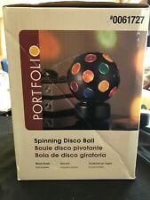 Rainbow Disco Ball Spinning  for child room or house parties #0061727