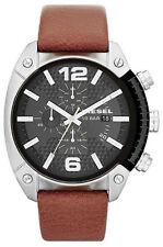 Lässige Armbanduhren aus echtem Leder mit Datumsanzeige