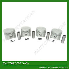 Piston Set  STD 85mm for KUBOTA V1902 (100% TAIWAN MADE) x 4 Pcs